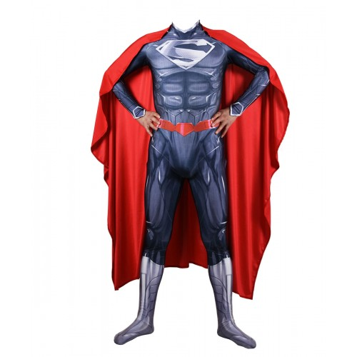 Superman Costume New 52 Version Superman Cosplay Costume