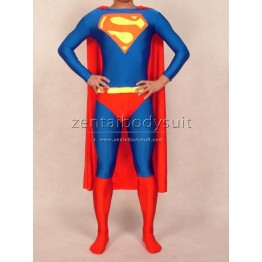 Classic Design Superman Suits Spandex Superhero Bodysuits