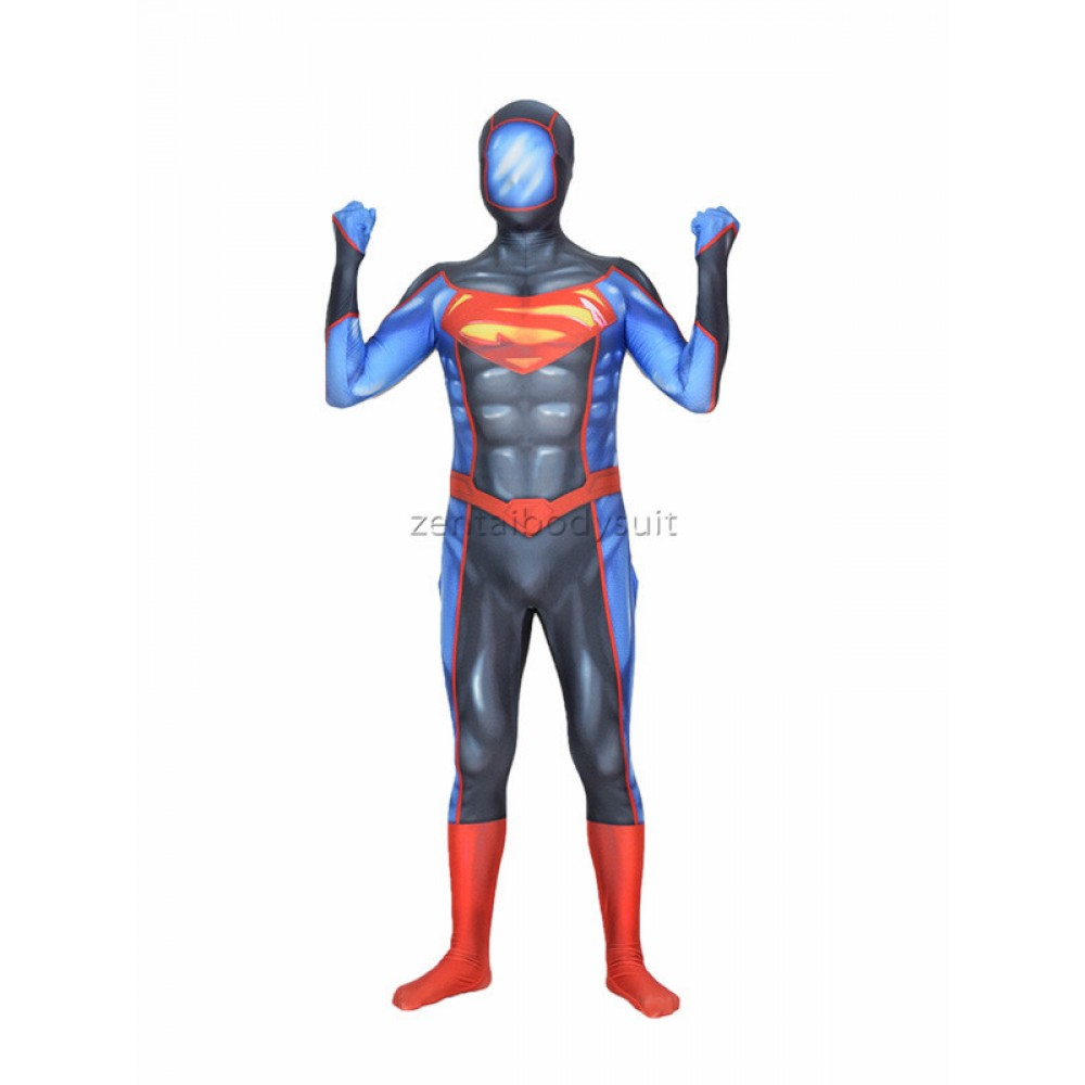 new 52 futures end superman superhero cosplay costume