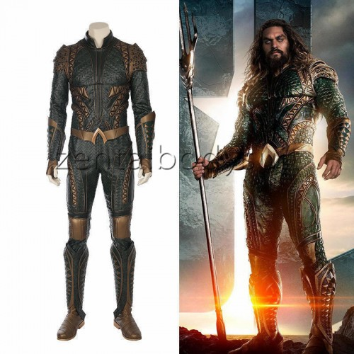 Justice League Aquaman Full Set Cosplay Superhero Costume