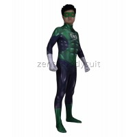 Muscle Green Lantern Costume Superhero Suit
