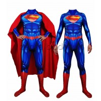New 52 Version Superman Cosplay Costume