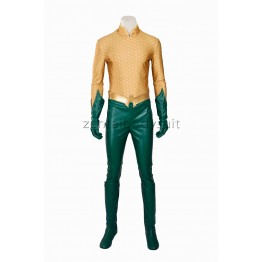The Justice League Kostuum Arthur Curry Aquaman Cosplay Costume