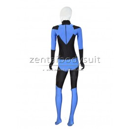 Blue Lantern Crops Costume Superhero Cosplay Zentai Suits