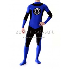 Custom Blue Lantern Corps Cosplay Zentai Costume