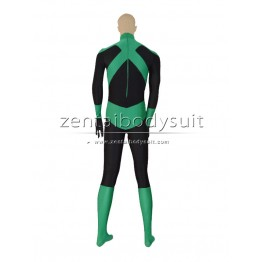 Custom Deep Green Lantern Superhero Cosplay Zentai Costume