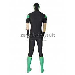 Green Lantern Short Sleeves Costume Superhero Cosplay Costume
