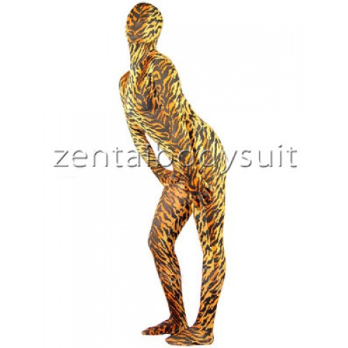 Spandex Tiger Lycra Full Body Zentai Suit