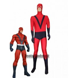 Giant Man Costume | Red And Navy Blue Spandex Superhero Costumes