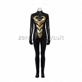 Marvel Comics Luxury Wasp Suit Cosplay Costume
