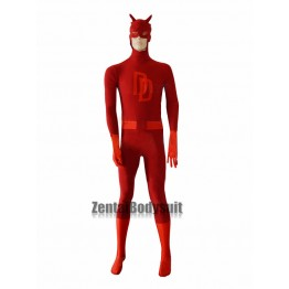 Marvel Daredevil Costume Spandex Superhero Costumes