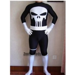 Marvel Punisher Suit Spandex Superhero Boysuit Costume