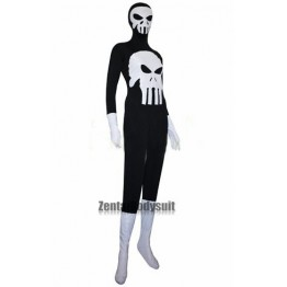 Punisher Costumes Spandex Superhero Suit