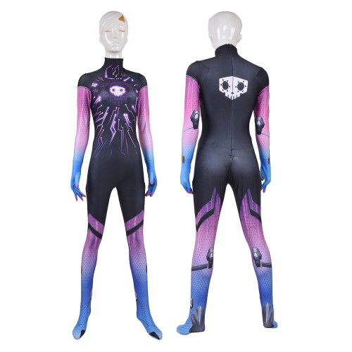 Sombra Costume Overwatch Undersuit Girl Cosplay Sombra Suit
