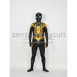3D Printed Custom Chrome Spiderman Costume Custom Spider-Man Suit