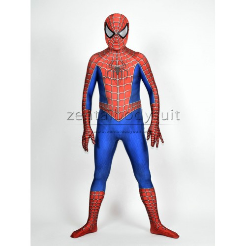 3D Printed Raimi Spider-man Costume Cosplay Raimi Spiderman Suit