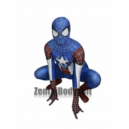 Morph Captain America Spider-Man Hybrid Superhero Costume