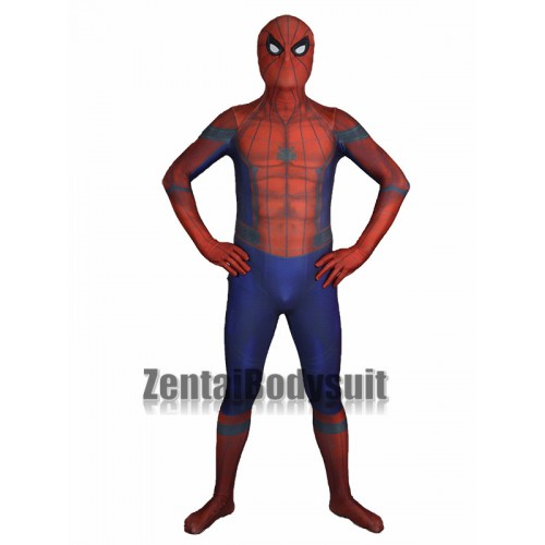 3D Shade Civil War Spider-man Costume Cosplay Suit