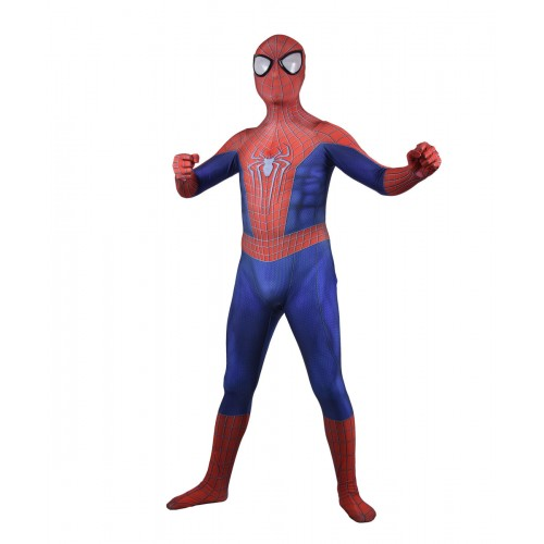 Spider-Man Costume Amazing Spider-man 2 Printing Superhero Costume