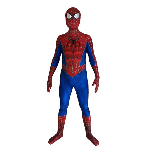 3D Printed Raimi Spider-man Costume Cosplay Suit