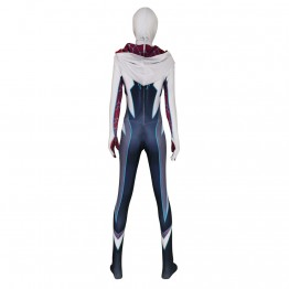 Gwen Stacy Spider-Man Costume Ghost-Spider Cosplay Costume Adult & Kids