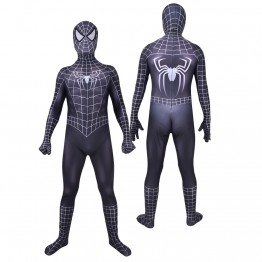 Raimi Symbiote Spider-Man Costume Black Spiderman Cosplay Costume