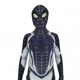Spider-Man Negative Suit PS4 Spiderman Cosplay Costume Jumpsuits