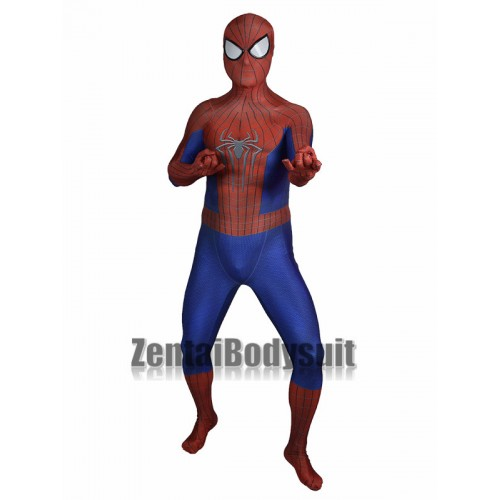 Amazing Spider-Man 2 Costume 3D Spiderman Costume