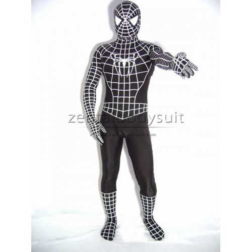Armored Spider-Man Spandex Superhero Costume