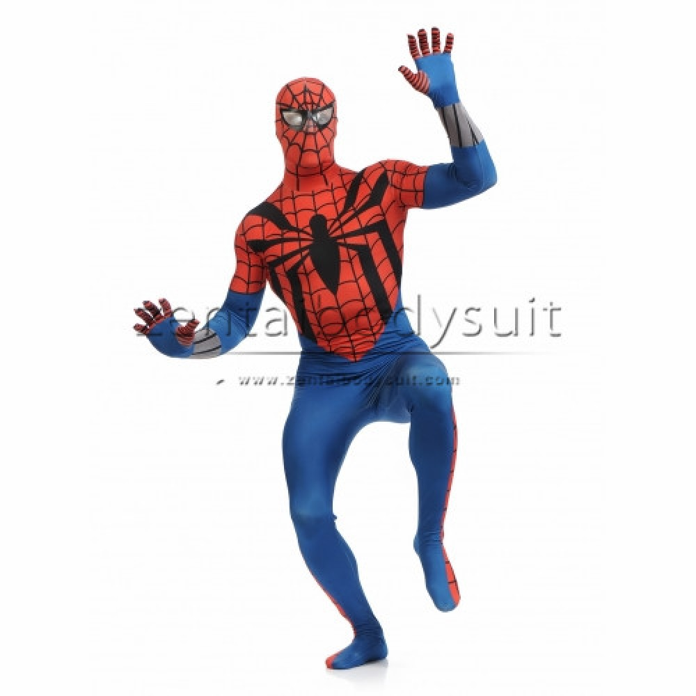 Ben Reilly Spider-Man Costume Superhero Suit  sc 1 st  Zentai Suits cosplay Personalize Party & Spider Man Future Foundation White Suit Spiderman Costume