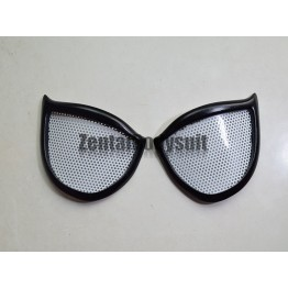 Black Style Spider Lenses Spiderman Eye Glasses