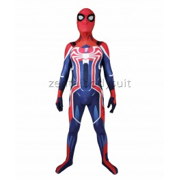 Newest Spiderman PS4 Spider-man Cosplay Suit