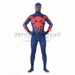 Spider man 2099 Costume Printing Spiderman Morph Fullbody Halloween Suit