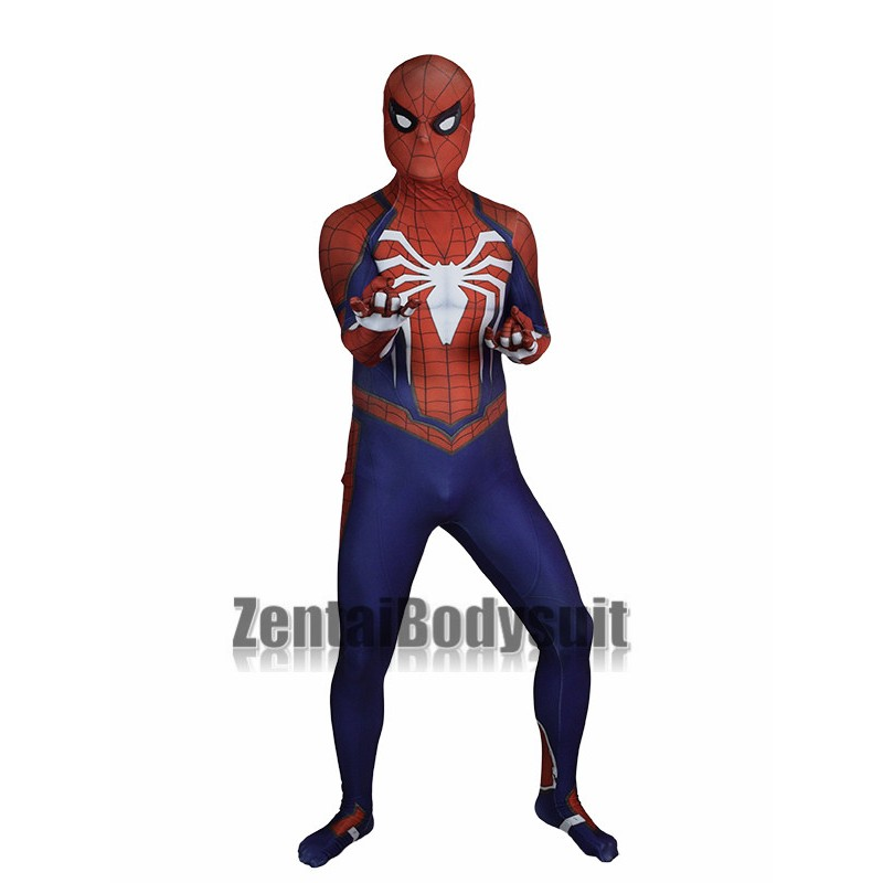 PS4 Insomniac Spiderman Halloween Cosplay Costume Tights Insomniac Games Suit