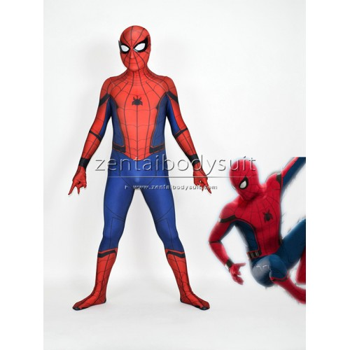 Spider-Man Homecoming Suit Captain America Civil War Spiderman Cosplay Costume