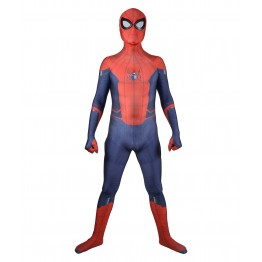 Spider-Man Suit Far From Home Printed Spiderman Costume