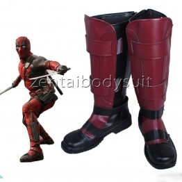Deadpool Wade Wilson Superhero Boots Cosplay Shoes