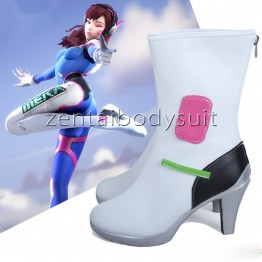 High Heels Overwatch D.Va Boots | Cosplay D.Va Shoes
