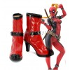 Lady Deadpool Boots