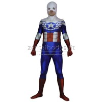3D Print Falcon Captain America Costume Superhero Zentai Suit