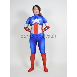 Captain America Girl Superhero Costume