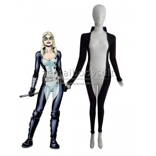 Marvel Comics Mockingbird Costume Spandex Superhero Zentai Suit
