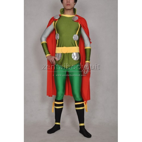 The Avengers Thor Costume Spandex Superhero Zentai Suit