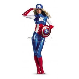 Womens American Dream Captain America Avengers Costumes