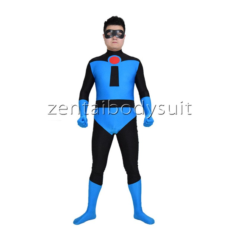 sc 1 st  Zentai Suits cosplay Personalize Party & Blue Mr.Incredible Spandex Superhero Costume