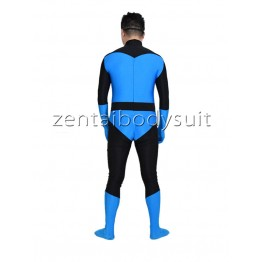 Blue Mr.Incredible Spandex Superhero Costume
