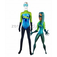 Dye-sub Incredibles 2 Voyd Cosplay Costume