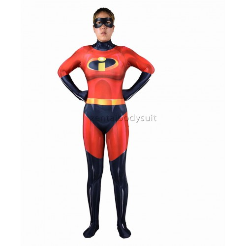 Female The Incredibles 2 Cosplay Costume