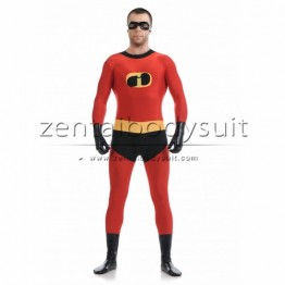 Men The Incredibles Mr Incredible Spandex Superhero Costume