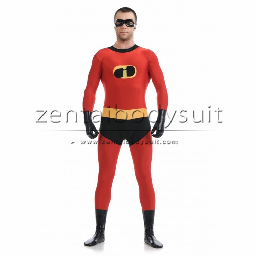 Men The Incredibles Mr Incredible Spandex Superhero Costum